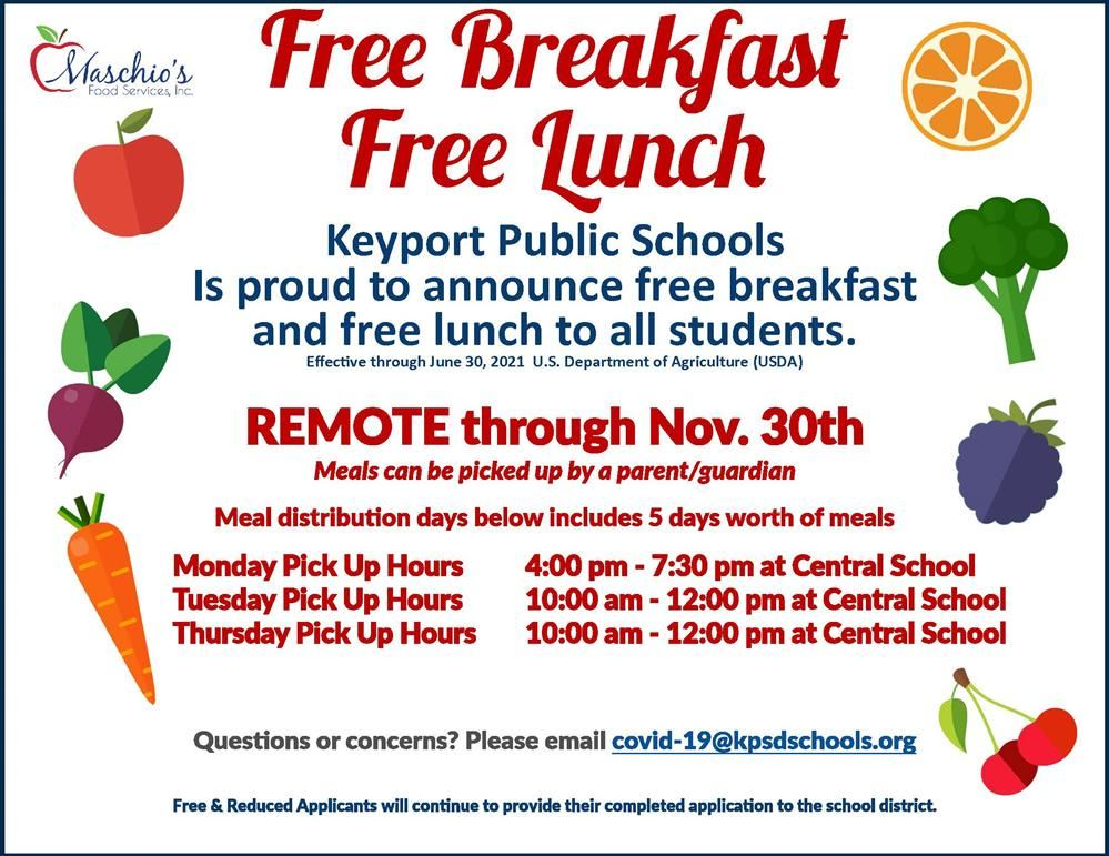 Free Breakfast Free Lunch