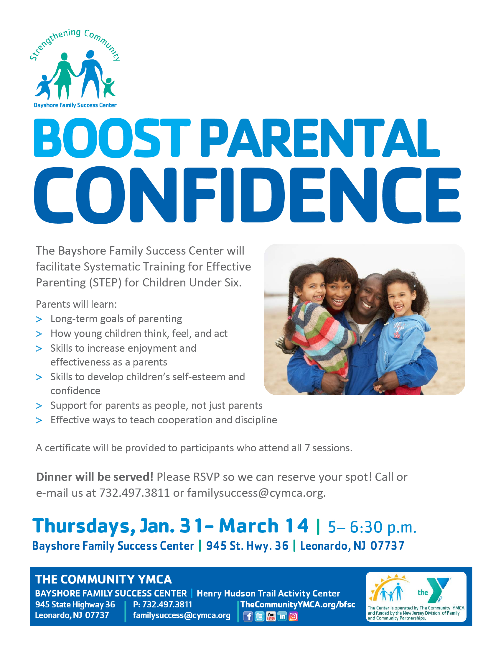 YMCA Boost Parent Confidence