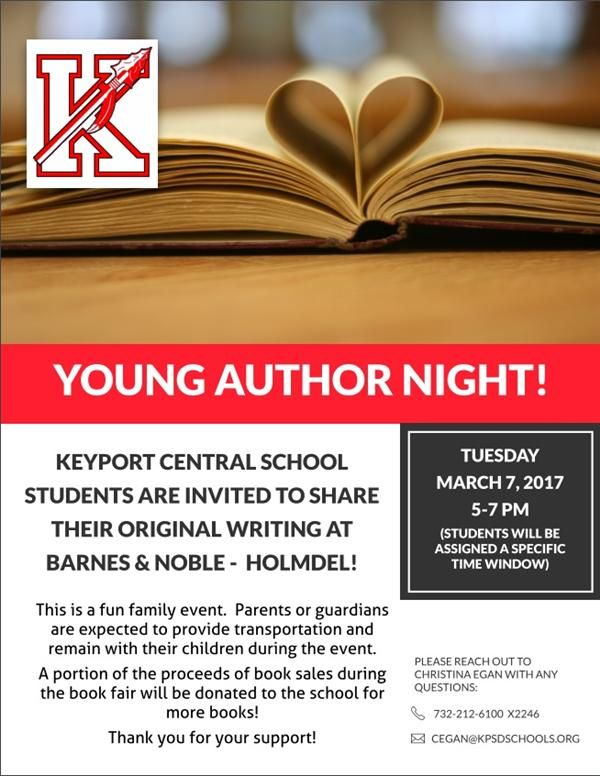 Young Author Night